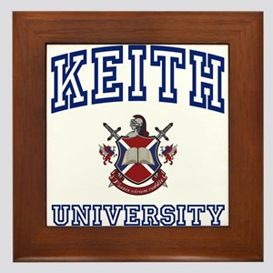 KEITH University Framed Tile