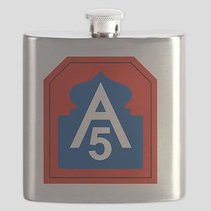 5th Army Flask