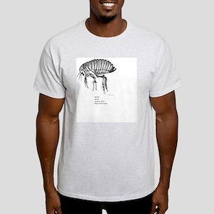 Rat Flea Pixel Size ExperimentB Light T-Shirt