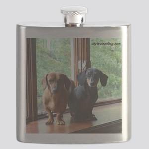 dasie and harley window seat Flask