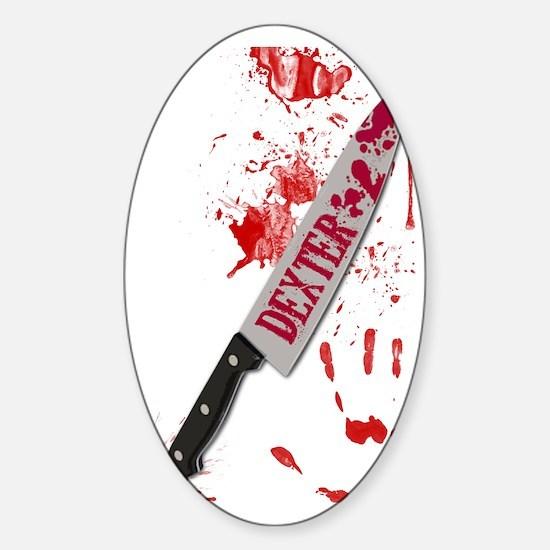 DexKnife Journal Sticker (Oval)