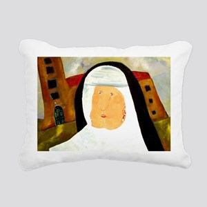 pearlearringdetailcp Rectangular Canvas Pillow