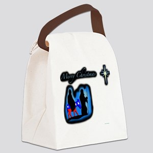 mary merry chrstmas Canvas Lunch Bag
