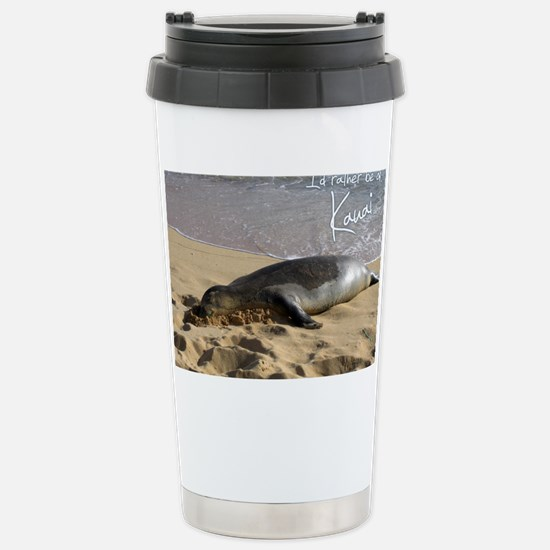 CalendarMonkSeal Stainless Steel Travel Mug