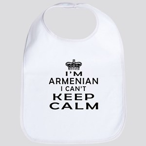 I Am Armenian I Can Not Keep Calm Bib