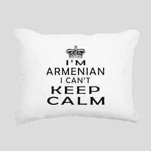 I Am Armenian I Can Not Keep Calm Rectangular Canv