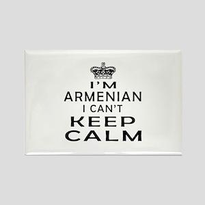 I Am Armenian I Can Not Keep Calm Rectangle Magnet