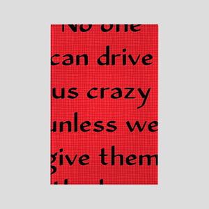 driveuscrazy_iphone3 Rectangle Magnet