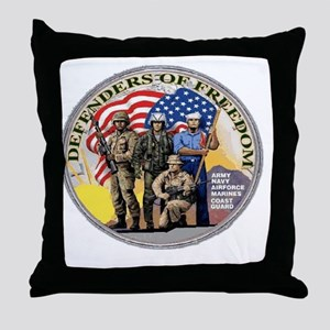 DEFENDERS Throw Pillow