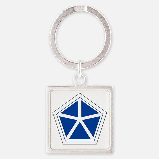 5th Corps Square Keychain