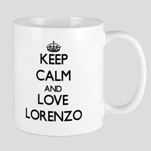 Keep Calm and Love Lorenzo Mugs