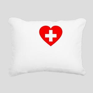 Roger -dk Rectangular Canvas Pillow