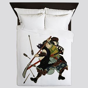 WARRIOR Queen Duvet