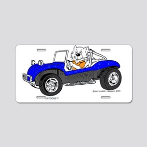 Dune Buggy Dark Lines in Co Aluminum License Plate