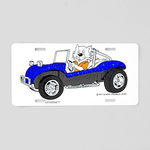 Dune Buggy Dark Lines in Co Aluminum License Plate