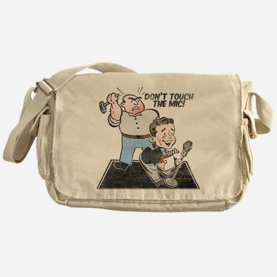 dont-touch-distressed.png Messenger Bag