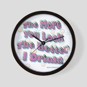 You Look tee Wall Clock