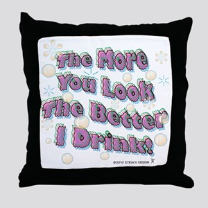You Look tee Throw Pillow