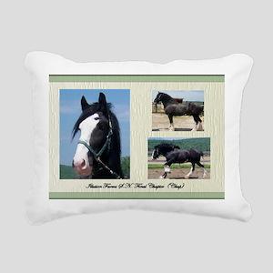 Beautiful Shire Draft ho Rectangular Canvas Pillow