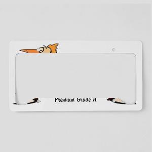 chicken_crap_01 License Plate Holder