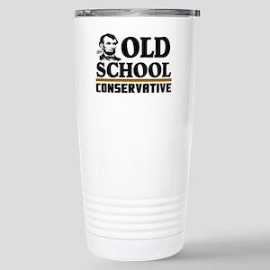 oldschoolv Stainless Steel Travel Mug