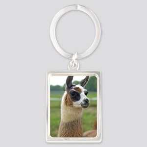 llama2_lp Portrait Keychain