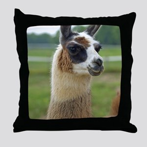 llama2_lp Throw Pillow