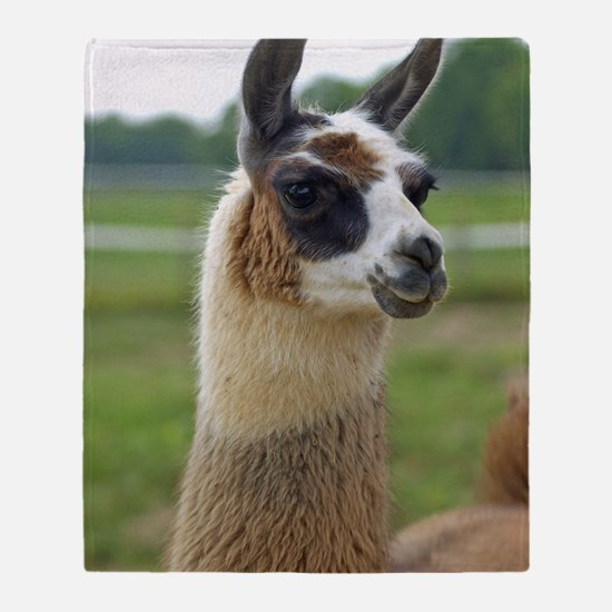 llama2_lp Throw Blanket