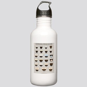 Espresso Field Guide Stainless Water Bottle 1.0L