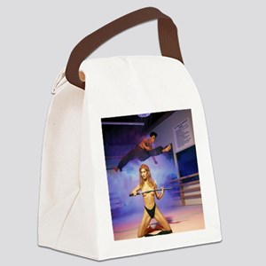 Karate Angels (2) Canvas Lunch Bag