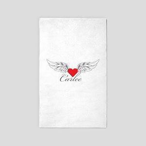 Angel Wings Carlee 3'x5' Area Rug