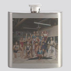 Karate Angels Calendar group photograph Flask