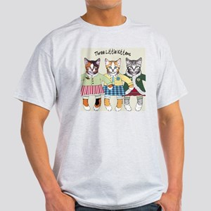 3 little kittens - cer tile Light T-Shirt