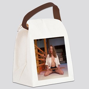 Karate Angel (2) Canvas Lunch Bag
