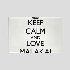 Keep Calm and Love Malakai Magnets