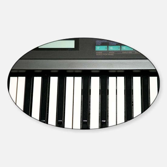 Keyboard Sticker (Oval)