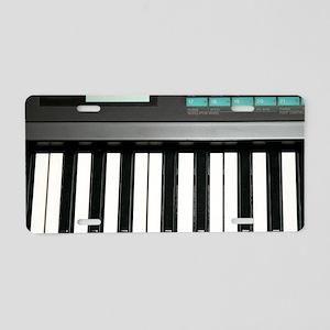 Keyboard Aluminum License Plate