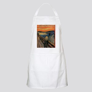 The_Scream_Poster Apron