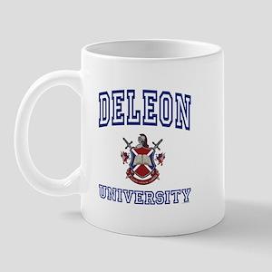 DELEON University Mug
