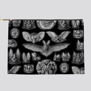 Vintage Bat Illustrations Makeup Pouch
