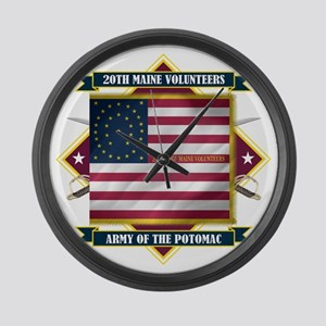 20th Maine (Diamond) Large Wall Clock