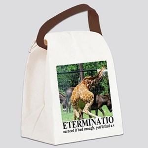 DETERMINATION1 Canvas Lunch Bag