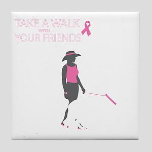 AwalkWithFriends Tile Coaster