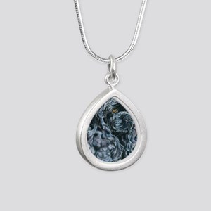 Echo16x16 Silver Teardrop Necklace