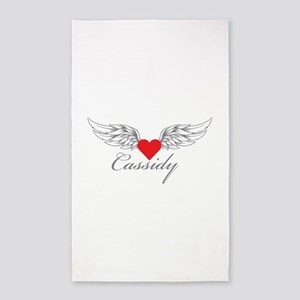 Angel Wings Cassidy 3'x5' Area Rug