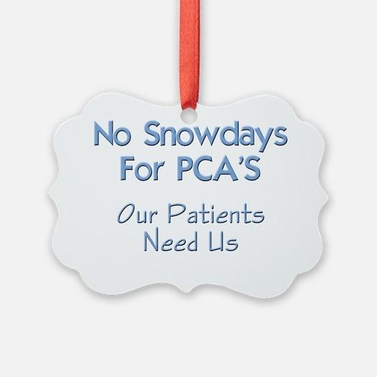 Patient Care Assistant PCA Ornament