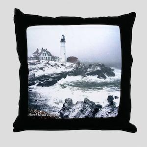 PortlandHeadlight3 Throw Pillow