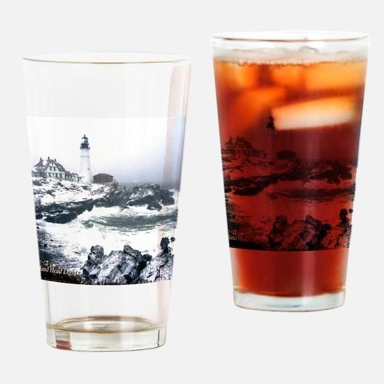 PortlandHeadlight3 Drinking Glass