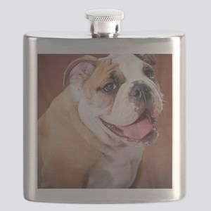 BulldogPuppy Flask