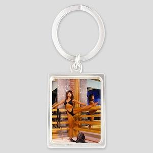 AD-0064R Portrait Keychain